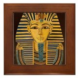 Cute King tut Framed Tile