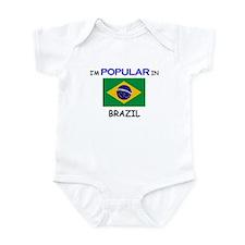 I'm Popular In BRAZIL Infant Bodysuit