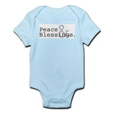 Peace & Blessings Infant Creeper