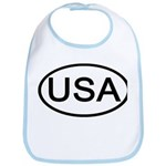 United States - USA - Oval Bib