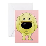 Golden Valentine's Day Greeting Cards (Pk of 10)