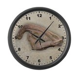 Hadrosaur Large Wall Clock