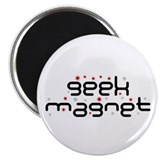 Geek Magnet (version #2) 2.25&quot; Magnet (100 pack)