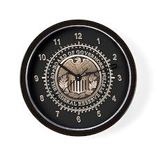 Federal Reserve Wall Clock