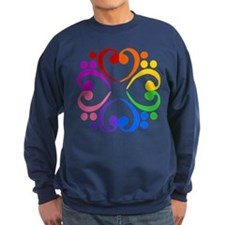 Bass Clef Flower Sweatshirt