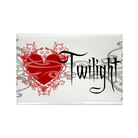 Twilight Movie Rectangle Magnet