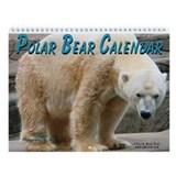 Polar Bear Wall Calendar
