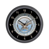 Defense Dept. (D.O.D.) Wall Clock
