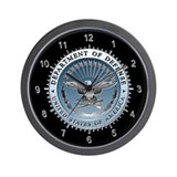U.S. Defense Department Wall Clock