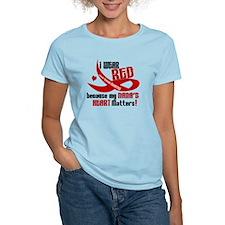 Red For My Nana Heart Disease Shirt T-Shirt