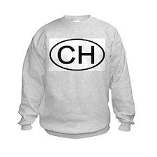 Switzerland - CH - Oval Sweatshirt