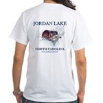 Jordan Lake White T-Shirt