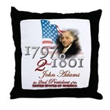 2nd President - Throw Pillow