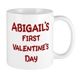 Abigails First Valentines Day Mug