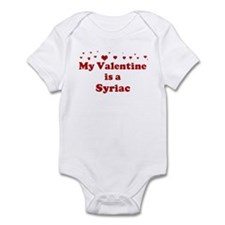 Syriac Valentine Infant Bodysuit