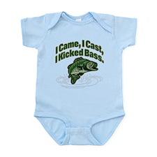 CAME, CAST, KICKED BASS Infant Bodysuit