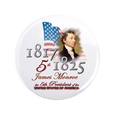 "5th President - 3.5"" Button (100 pack)"