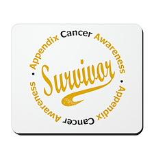 Appendix Cancer Survivor Mousepad