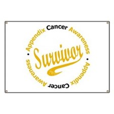 Appendix Cancer Survivor Banner