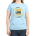 AppendixCancerHope Women's Light T-Shirt