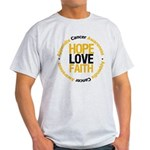 AppendixCancerHope Light T-Shirt