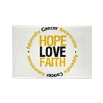 AppendixCancerHope Rectangle Magnet (100 pack)