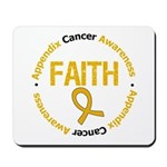 Appendix Cancer Faith Mousepad