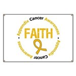 Appendix Cancer Faith Banner