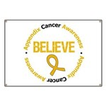 Appendix Cancer Believe Banner