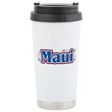 Hawaii - flowers Ceramic Travel Mug