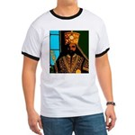 Jah Rastafari Emperor Haile Selassie Ringer T
