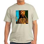 Jah Rastafari Emperor Haile Selassie Light T-Shirt