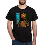 Jah Rastafari Emperor Haile Selassie Dark T-Shirt