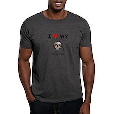 I Heart My Shih Tzu T-Shirt