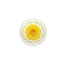 Daisy Mother of the Groom Mini Button (100 pack)