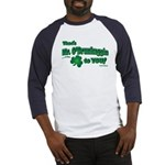 St Patrick's Day t-shirt, Mr Baseball Jersey