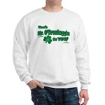St Patrick's Day t-shirt, Mr Sweatshirt