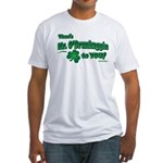 St Patrick's Day t-shirt, Mr Fitted T-Shirt