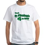 St Patrick's Day t-shirt, Mr White T-Shirt