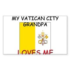My Vatican City Grandpa Loves Me Decal