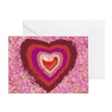 Valentine Hearts - Greeting Card