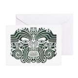 Maori Tattoo-stone Greeting Cards (Pk of 10)