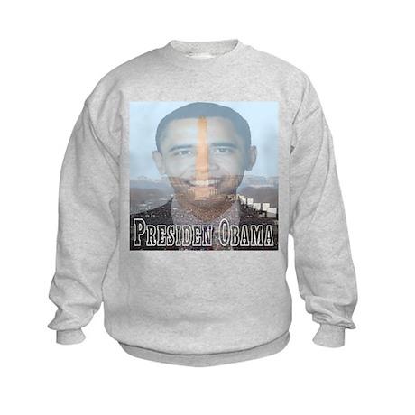 President Obama Kids Sweatshirt
