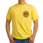 Delaware Masons Yellow T-Shirt