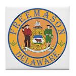 Delaware Masons Tile Coaster