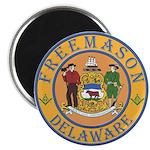 Delaware Masons Magnet