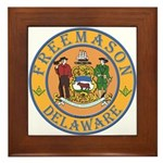 Delaware Masons Framed Tile
