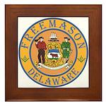 Delaware Masons Framed Tile