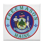Maine Mason Tile Coaster
