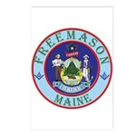 Maine Mason Postcards (Package of 8)